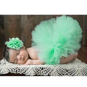 Other - Baby Newborn Girls Hairband Tutu Skirt Photo